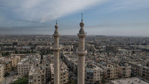 Вид на сирийский город Алеппо. - Sputnik Абхазия