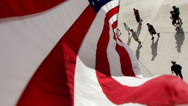 Флаг США. Архивное фото. - Sputnik Абхазия
