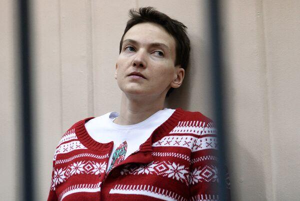 Заседание суда по делу Н.Савченко. Архивное фото - Sputnik Абхазия