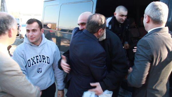Восьмерых граждан Грузии обменяли на четверых граждан РЮО на КПП Ингур - Sputnik Абхазия