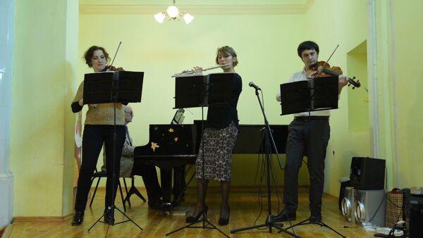 Концерт классической музыки провели в детской школе искусств имени Ков - Sputnik Абхазия