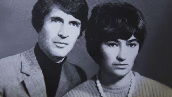 Таиф Аджба с супругой Риммой Когония - Sputnik Аҧсны
