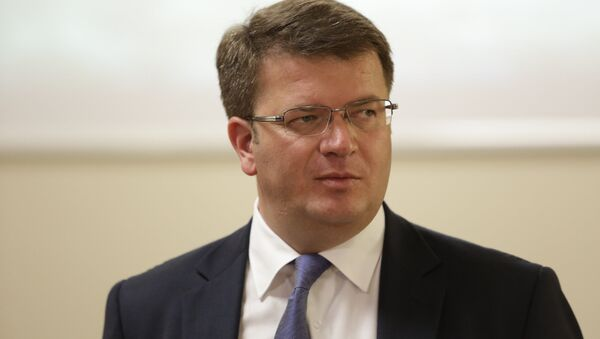 Экс-глава МИД РЮО Давид Санакоев - Sputnik Абхазия