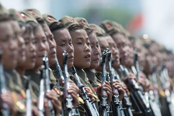 Военные КНДР. Архивное фото - Sputnik Абхазия