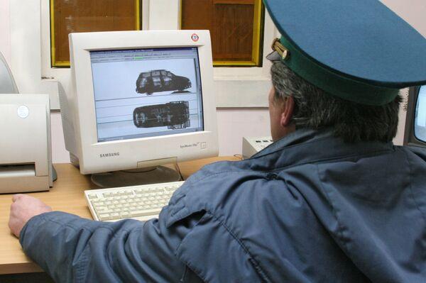 Пограничный автомобильный пункт пропуска. Архивное фото - Sputnik Абхазия