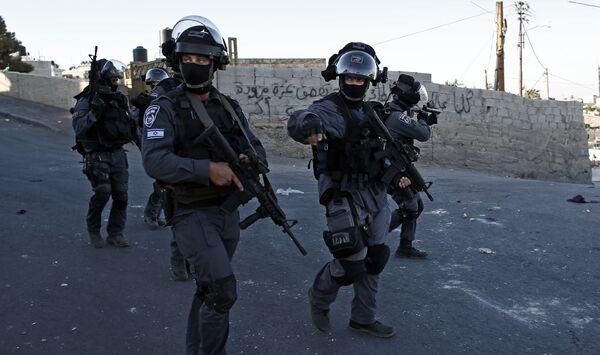 Израильская полиция. Архивное фото. - Sputnik Абхазия