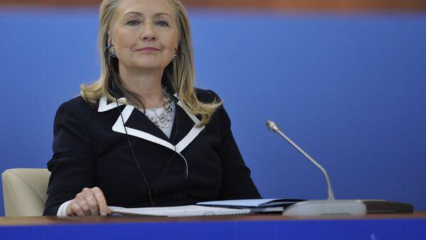 Хиллари Клинтон. Архивное фото - Sputnik Абхазия