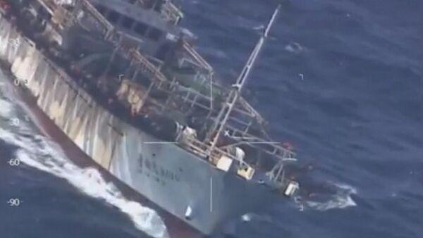 Береговая охрана Аргентины преследовала китайскую шхуну. Кадры инцидента - Sputnik Абхазия