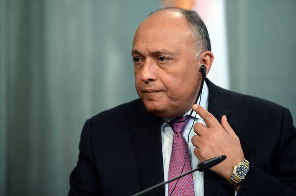Встреча глав МИД РФ и Египта С. Лаврова и С. Шукри - Sputnik Абхазия