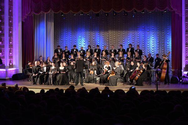 Концерт класической музыки в память о погибших в отечественной войне Абхазии. - Sputnik Абхазия