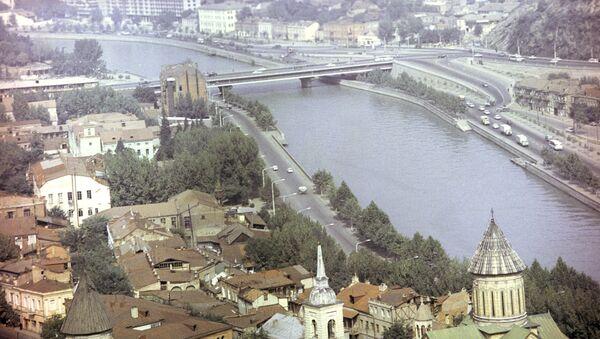 Вид на город Тбилиси. Архивное фото - Sputnik Абхазия