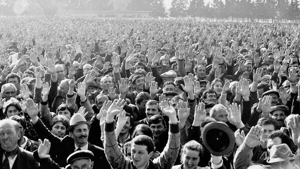 Лыхненский сход 18 марта 1989 год. - Sputnik Абхазия