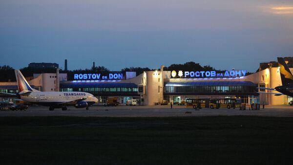 Международный аэропорт Ростов-на-Дону. Архивное фото - Sputnik Абхазия