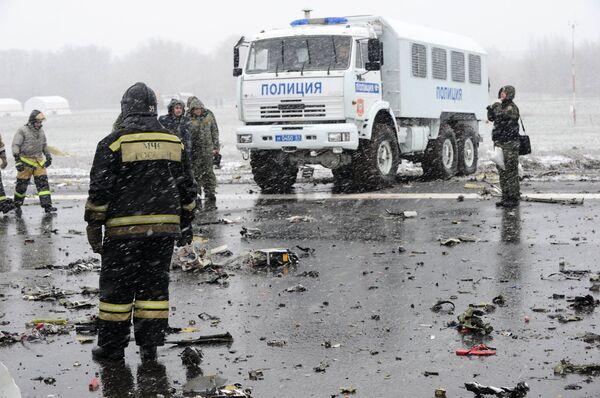Пассажирский самолет Boeing-737-800 разбился при посадке в аэропорту Ростова-на-Дону - Sputnik Абхазия