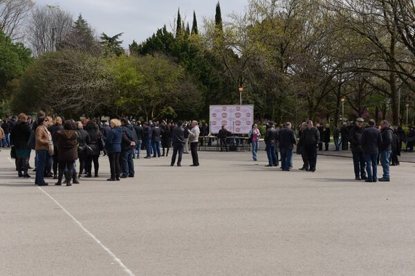Митинг против закона об НДС - Sputnik Абхазия