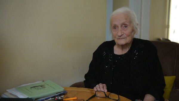 Валентина Чачба рассказала об отце Николае Чачба - Sputnik Абхазия