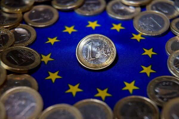 Монеты евро. - Sputnik Абхазия