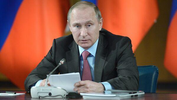 Президент России Владимир Путин. Архивное фото. - Sputnik Абхазия