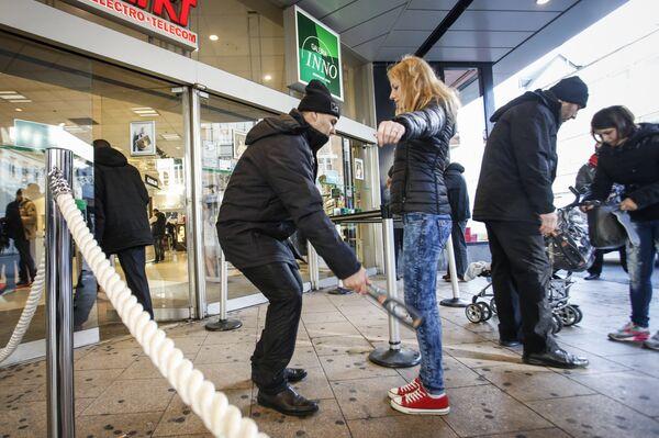 Усиление мер безопасности в Брюсселе. Архивное фото. - Sputnik Абхазия