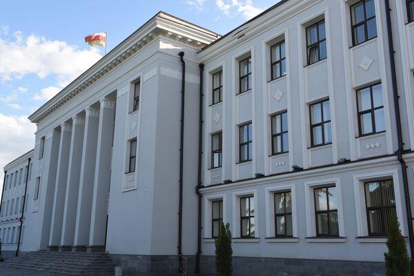 Здание парламента РЮО - Sputnik Абхазия