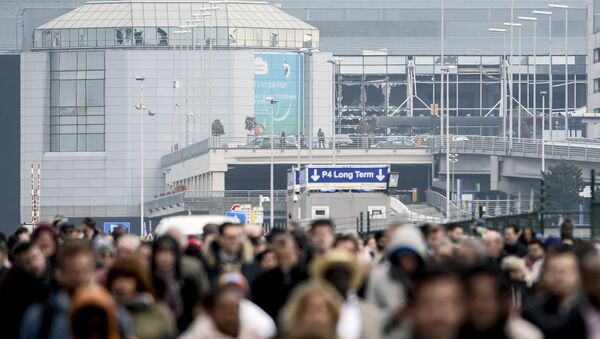 Аэропорт в Брюсселе. - Sputnik Абхазия
