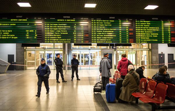 Аэропорт в Брюсселе. Архивное фото - Sputnik Абхазия