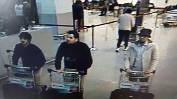Подозреваемые в совершении терактов в Брюсселе. - Sputnik Абхазия