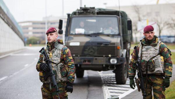 Ситуация в Брюсселе после серии взрывов в аэропорту и метро. Архивное фото. - Sputnik Абхазия