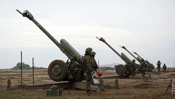Батальонно-тактические учения с боевой стрельбой. Архивное фото - Sputnik Абхазия
