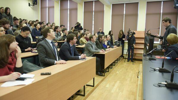 Презентация TED-комнаты  в АГУ. - Sputnik Абхазия