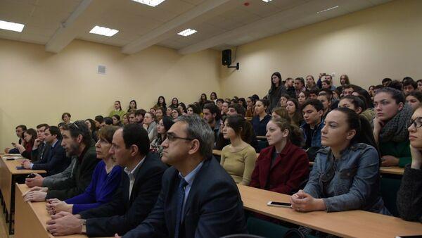 Студентам АГУ рассказали в формате TED talks об информационных техноло - Sputnik Абхазия