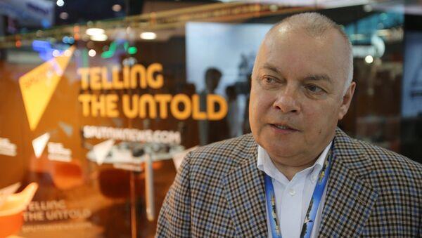 Генеральный директор МИА Россия сегодня Дмитрий Киселев. Архивное фото - Sputnik Абхазия