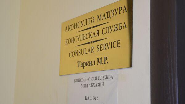 Консульская служба РА. - Sputnik Абхазия
