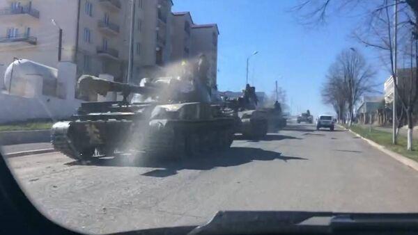 Ситуация в Степанакерте после обострения карабахского конфликта - Sputnik Абхазия