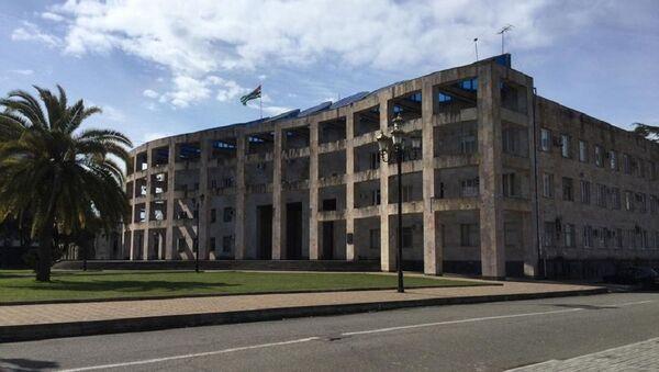 Здание администрации Очамчыры - Sputnik Абхазия
