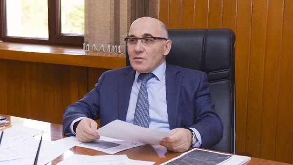 Глава администрации Гулрыпшского района - Аслан Барателия - Sputnik Аҧсны
