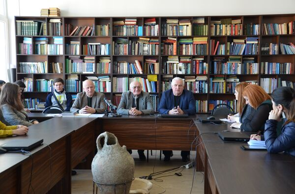 Пресс-конференция к 75-летию Юрия Воронова - Sputnik Абхазия