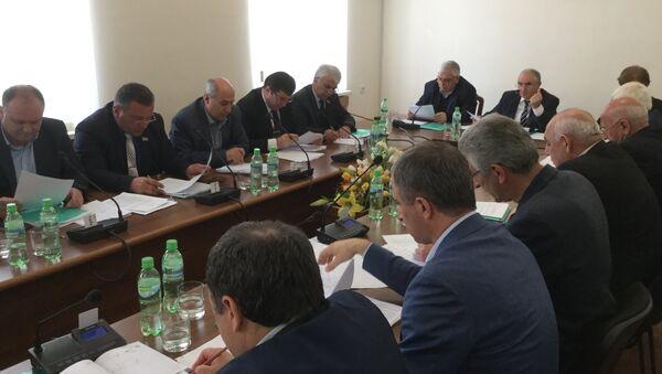 Сессия Парламента Абхазии - Sputnik Абхазия