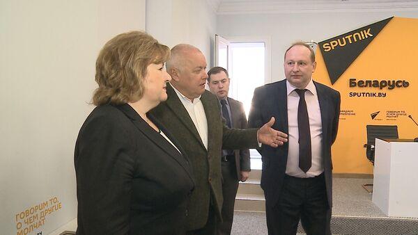 Мультимедийный пресс-центр Sputnik Беларусь открылся в Минске - Sputnik Абхазия