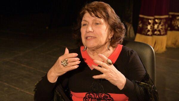 Проект Жизнь и театр продолжает Народная артистка Абхазии Софа Агума - Sputnik Абхазия