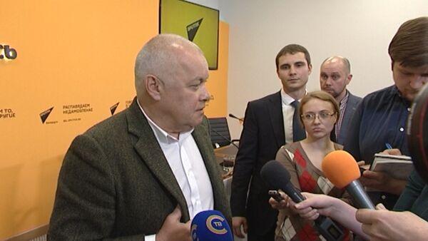 Киселев: критика не входит в мои задачи - Sputnik Абхазия