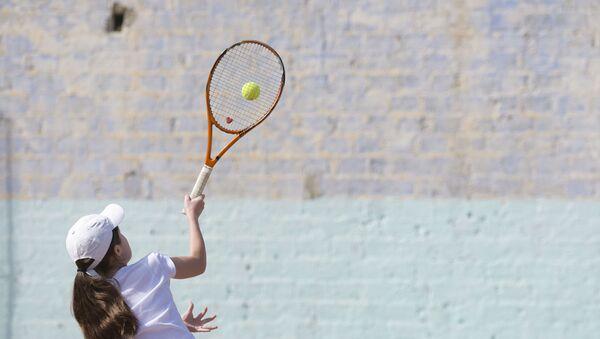 Школа тенниса в Сухуме. - Sputnik Аҧсны