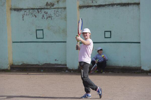 Школа тенниса в Сухуме. - Sputnik Абхазия