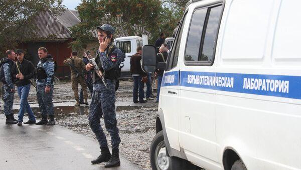 Взрыв у здания РОВД в Сунженском районе Чечни - Sputnik Абхазия