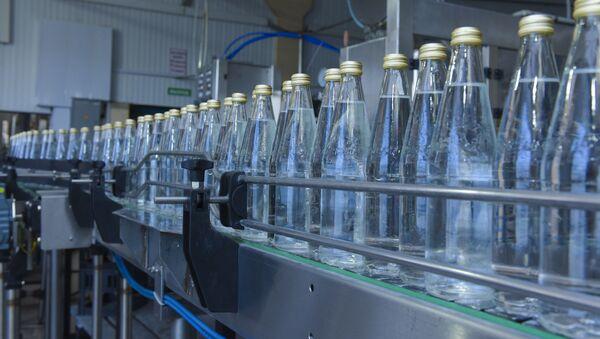 Производство минеральной воды Ауадхара. - Sputnik Абхазия