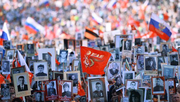 Участники шествия Бессмертный полк. - Sputnik Абхазия