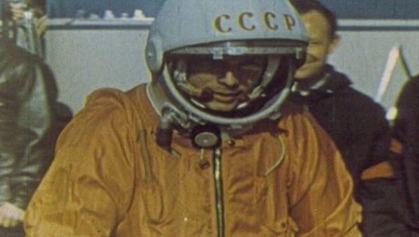 Спутник_Юрий Гагарин – человек, первым побывавший в космосе. Кадры из архива - Sputnik Абхазия