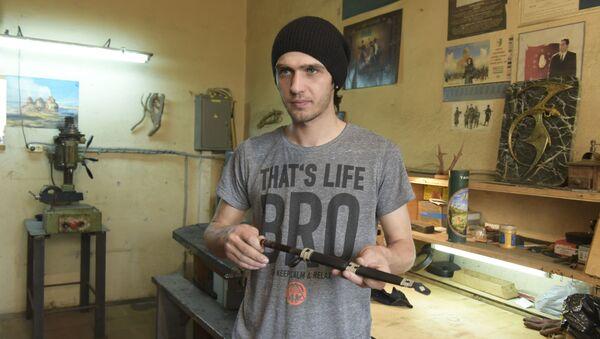 Изготовление традиционных абхазских ножей - Sputnik Аҧсны