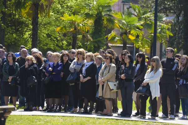 Митинг в поддержку депутата Алмаса Джапуа - Sputnik Абхазия