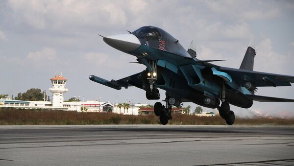 Российская боевая авиация на авиабазе Хмеймим в Сирии - Sputnik Абхазия